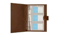 Address book for business cards